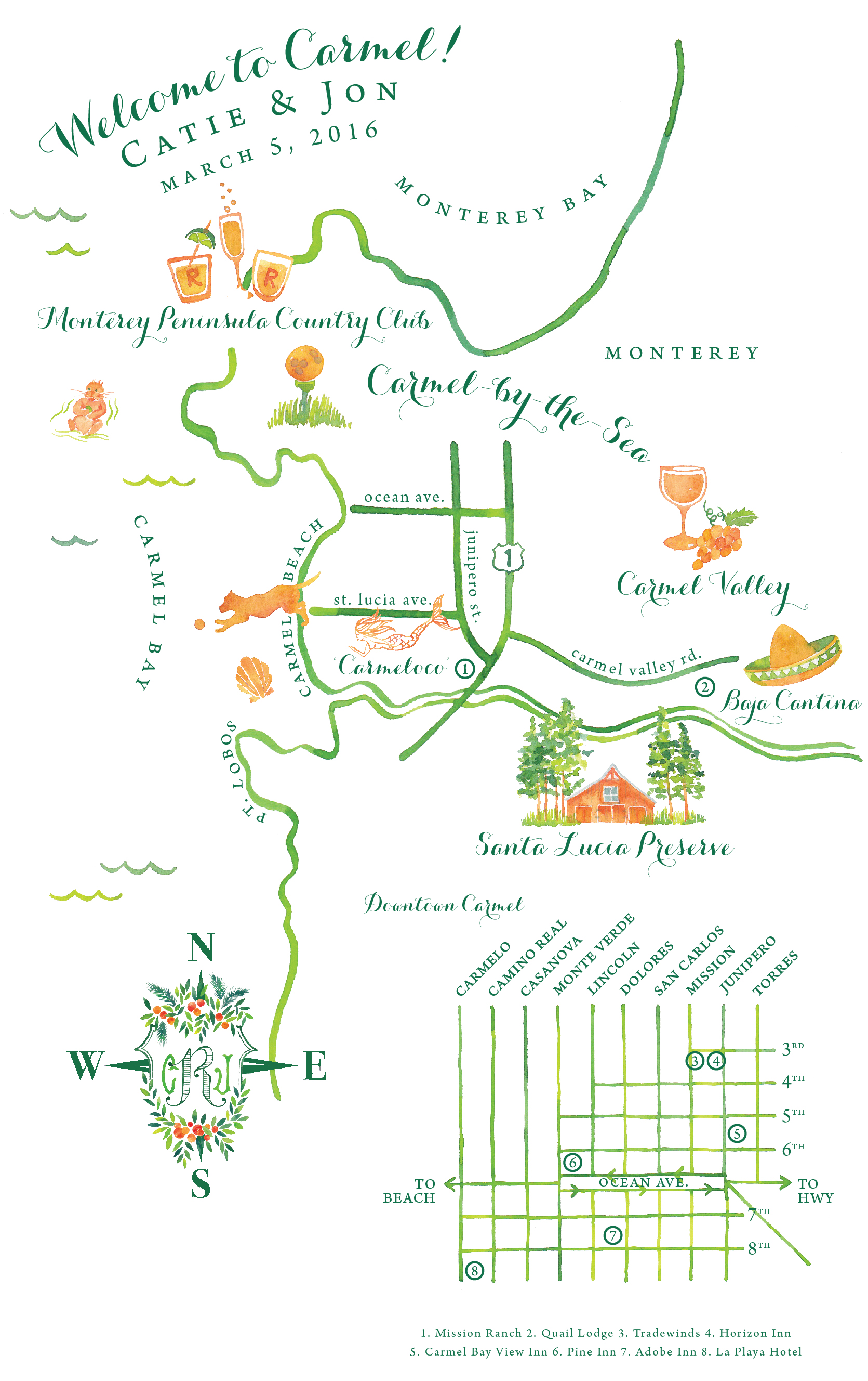 Custom Map Designs